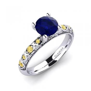 Nhẫn Sapphire Ebonie